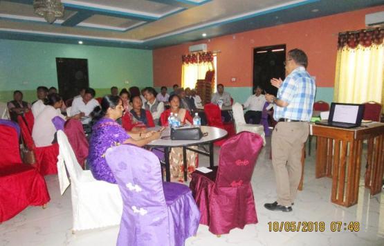 कमलामाई नगरपालिकाको राजश्व सुधार योजना तर्जुमा कार्यशाला गोष्ठी